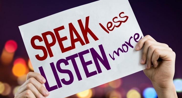Leaders are Listeners